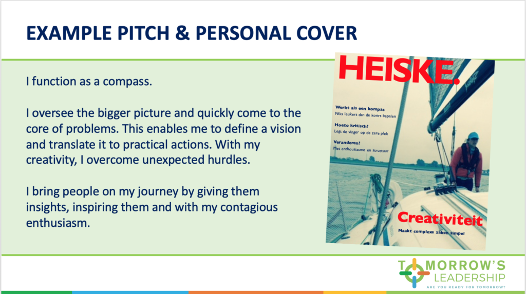 Elevator Pitch and Cover